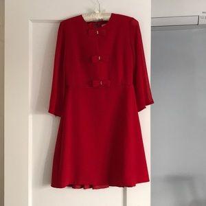 Ted Baker red dress